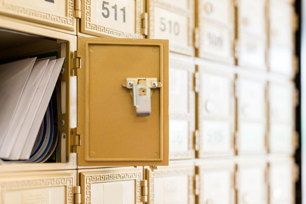 Post Office Mail Boxes